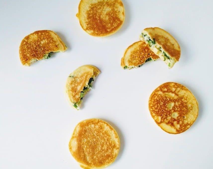 Экспресс-пирожки с зеленым луком
