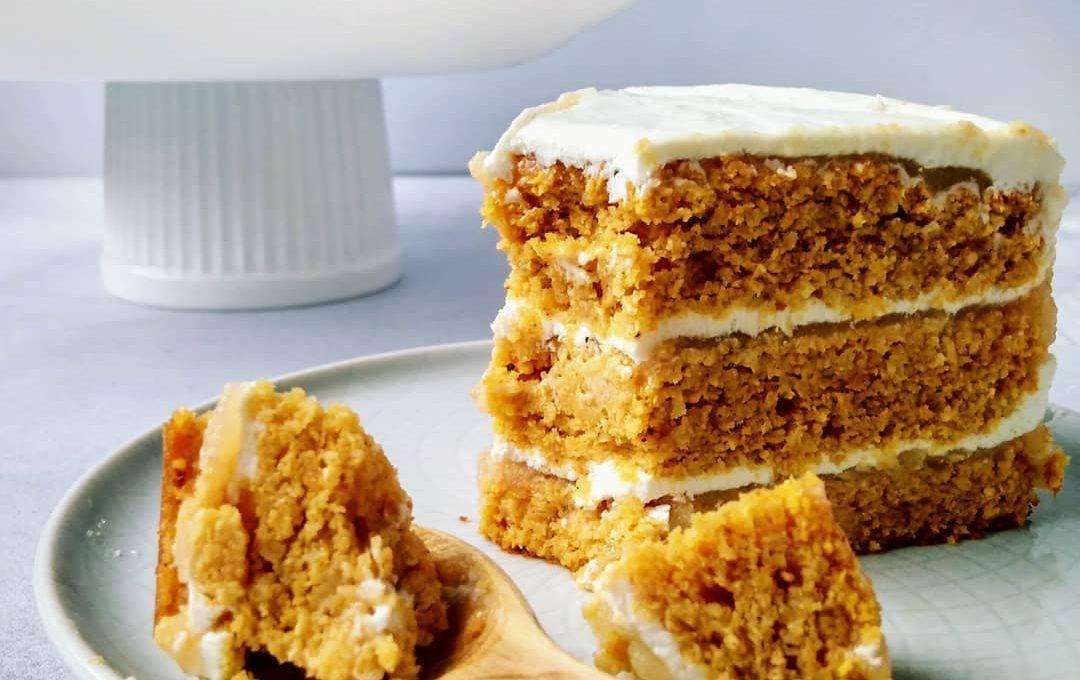 Морковно-яблочный торт