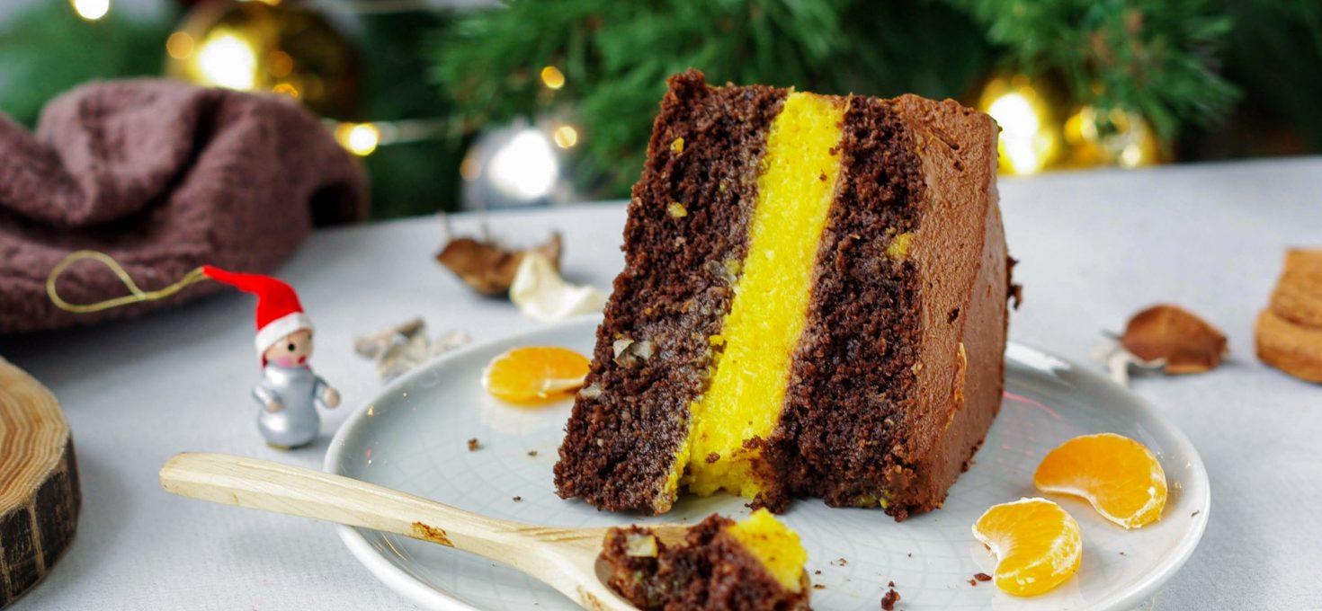 Мандариновый пп торт