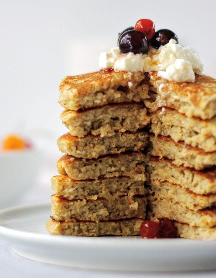 Овсяные оладьи – ПП завтрак школьника
