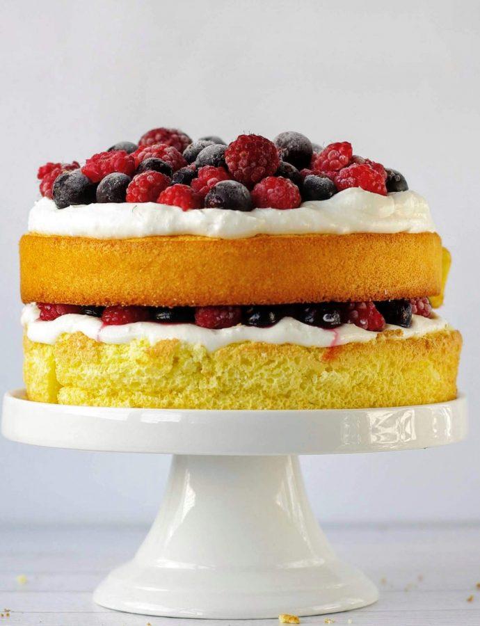 ПП торт Ягодный