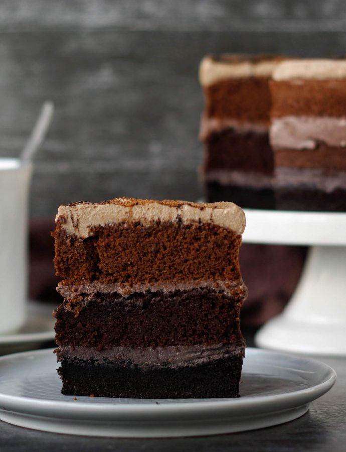 ПП торт Шоколадный
