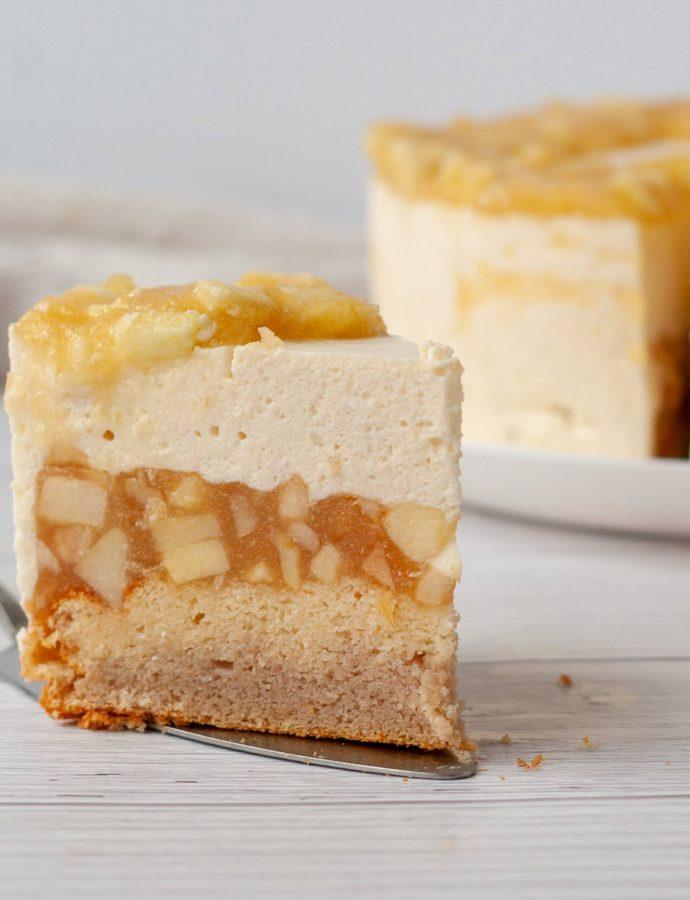 Яблочный торт для похудения – 89 Ккал