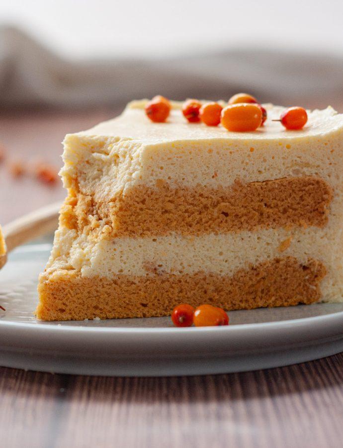 ПП торт Манго-облепиха