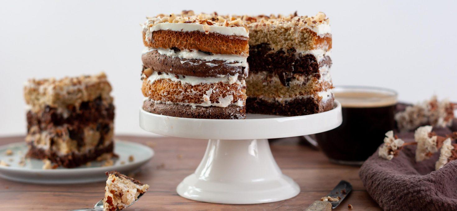 Торт из геркулеса без муки