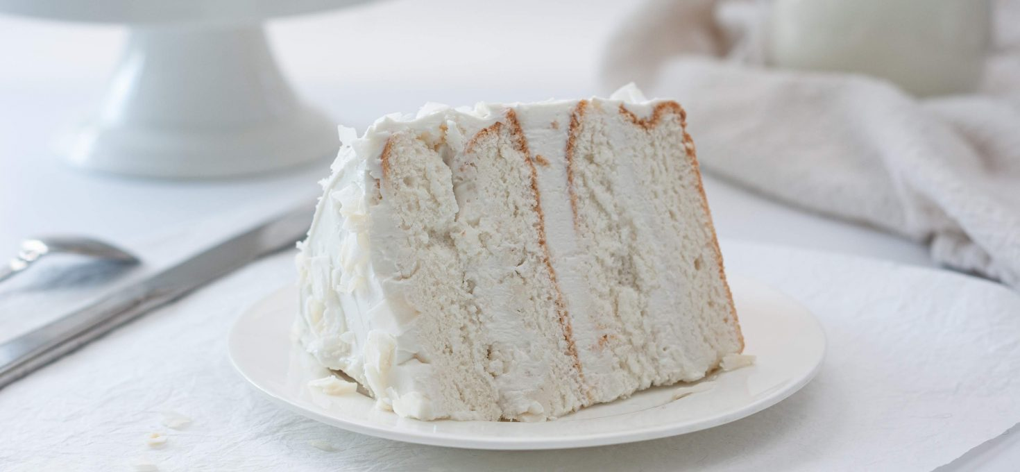 Белый ПП бисквит на белках